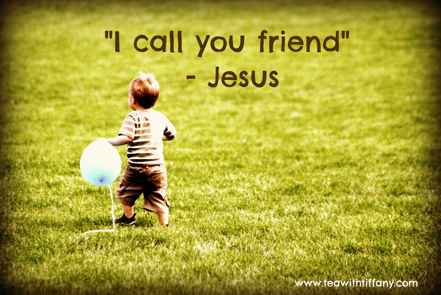 Call you friend jesus